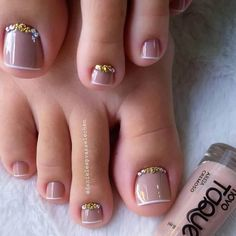130 2019 should try the inspiration nail design picture - Pa.- 130 2019 should try the inspiration nail design picture – Page 19 of 129 – Inspiration Diary 130 2019 should try the inspiration nail design picture – Page 19 of 129 – Inspiration Diary - Pretty Toe Nails, Cute Toe Nails, Pretty Toes, Gorgeous Nails, My Nails, Fall Toe Nails, Pedicure Designs, Manicure E Pedicure, Toe Nail Designs