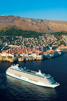 42 chicest mediterranean cruises: Crystal Serenity, Serenity Cruises for a Southern California vibe.
