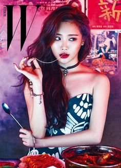 Girl's Day Yura and Kim Min Jung - W Magazine April Issue '16