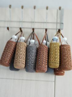 물기잡는 커버 : 네이버 블로그 Crochet Decoration, Crochet Home Decor, Crochet Handbags, Crochet Purses, Crochet Mask, Knit Crochet, Crochet Designs, Crochet Patterns, Crochet Beach Bags