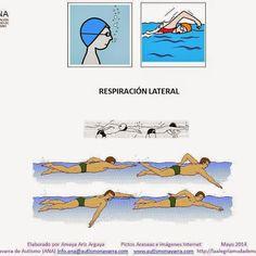 APRENDER A NADAR (Adaptación con pictogramas) Adaptación Visual : Para aprender a Nadar con Respiración lateral y  a nadar a espalda. Hecho por Amaya Ariz Argaya http://www.autismonavarra.com/ con pictos de Arasaac - Portal Aragonés de la Comunicación Aumentativa y Alternativa. http://www.catedu.es/arasaac/