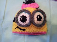 OMG! It doesn't matter how old Despicable Me is when I have children, I WILL make my baby wear this!