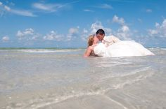 @Jenna Moser and this!!!!  Trash the Dress shoot in Clearwater Beach. Florida Beach Wedding by Sun Kissed Weddings.
