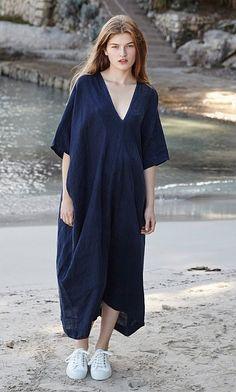 Plumo - Linen Dress