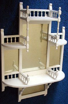 VICTORIAN  4 SHELF ETAGERE- do etagere sides on craft armoire cabinet