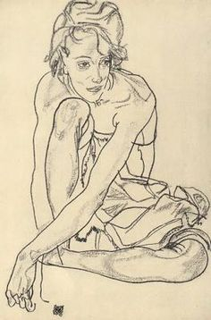 Intimacy in Art: Portraits by Egon Schiele | The Urchins