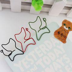 1 pcs Kreatif Menarik Bookmark Klip Klip Memo Klip Kertas Berbentuk untuk Kantor Sekolah Alat Tulis Hadiah
