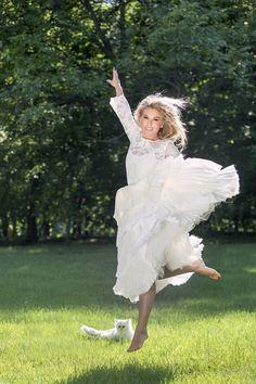 Corina in Parlor! Red Carpet, Flower Girl Dresses, Ballet Skirt, Silk, Studio, Wedding Dresses, Celebrities, Weddingideas, Skirts