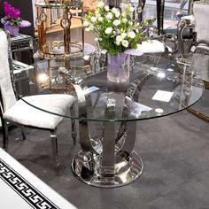 Florido étkezőasztal 130x130x75 cm Dining Table, Florida, Furniture, Home Decor, Modern, Decoration Home, Trendy Tree, Room Decor, Dinner Table