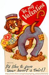 I love you like a monkey's butt. #Valentine