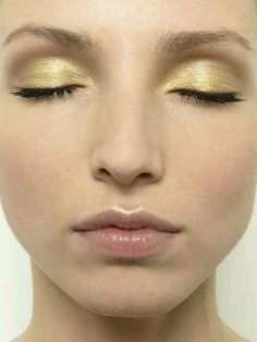 Very light toned gold love it
