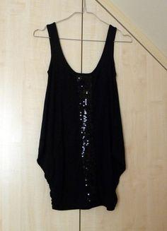 Kup mój przedmiot na #vintedpl http://www.vinted.pl/damska-odziez/tuniki/9723393-czarna-tunika-z-cekinami