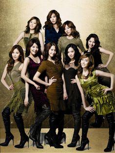 Name: Girls Generation Debut: 2007 Members: Taeyeon, Sooyeon, Soonkyu, Miyoung, Hyoyeon, Yuri, Sooyoung, Yoonah, Joohyun