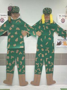 Veterans day decorations