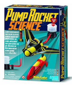Jake - Pump Rocket ScienceKids Lab Kit by S.T.E.M. Learning Toys #zulilyfinds