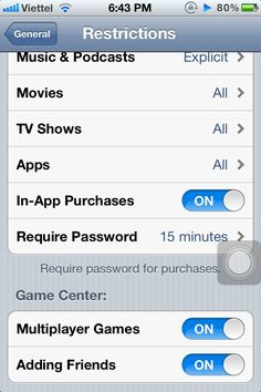 How to Disable In-App Purchase in iOS
