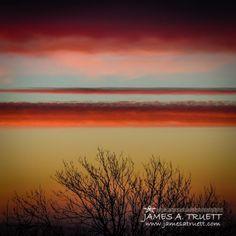 Crimson Clouds at Sunrise over County Clare, #Ireland. http://www.jamesatruett.com