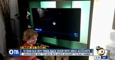 A 5-Year Old Discovers Microsoft Xbox Vulnerability