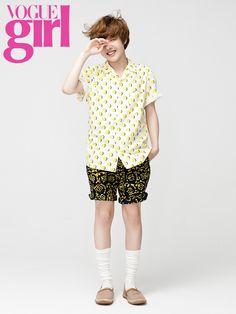 Yoo Seung-woo // Vogue Girl Korea // June 2013