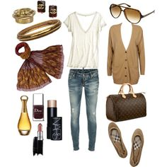 for a Saturday of shopping or a Sunday at the wineries with my man...this is pretty much what my go-to outfit looks like for a brisk fall weekend! (polyvore is SO MUCH FUN!!!)