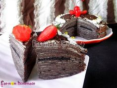 Oreo Chocolate Mille Crepes