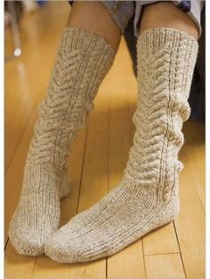 Tyrolean Stockings | InterweaveStore.com $5.50