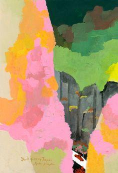 Izutsu Hiroyuki's Colourful Paintings