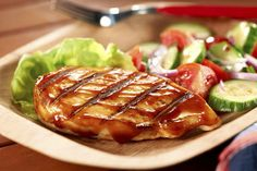 Perfect BBQ Grilled Chicken recipe - made this today for the time. - Perfect BBQ Grilled Chicken recipe – made this today for the time…delish, definitely doing - Perfect Grilled Chicken, Grilled Chicken Recipes, Grilled Meat, Grilling Recipes, Cooking Recipes, Healthy Recipes, What's Cooking, Sauce Recipes, Healthy Foods