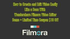 Wondershare Filmora Review and $10 OFF Limited COUPON DOWNLOAD ►► http://www.thecheapsoftware.com/wondersharevideoeditor 10$ Off COUPON Window ►► http://www....