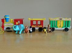 Le train Cirque - Fisher Price Circus Train Little People