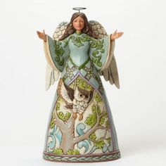 The Way Of Wisdom-Angel With Owl Figurine - Birds - Everyday  This MUST be in my collection!!!