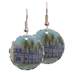 The Plaza Building Earring