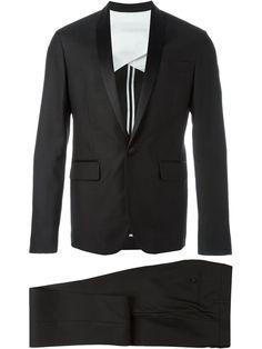 Dsquared2 satin lapel two-piece suit
