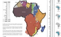 Graphic shows Africa bigger than China, India, US and most of Europe