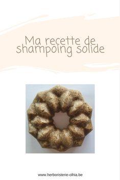 Recette de shampoing solide fortifiant aux poudres et huiles essentielles
