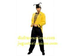 Tu mejor disfraz de lord avispa hombre adulto bt1526 Con este cómico serás el animalito más divertido en Despedidas, Fiestas de Disfraces o en Carnaval.