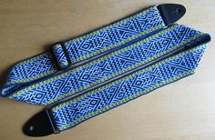 Ravelry: woolandneedles' Tablet Weaving - Guitar Strap with Fish Pattern