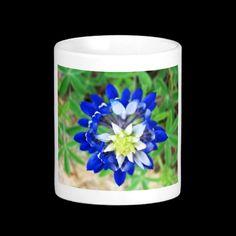 Texas Bluebonnet Mug by Texas Eagle Gallery on Zazzle