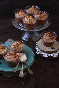 Mousses au chocolat façon cupcakes @ Fraise-Basilic