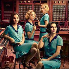 """""""Las chicas del cable"""", protagonizada por Blanca Suárez, Maggie Civantos, Ana Fernández y Nadia de Santiago, llegarán a todo el mundo en Netflix el próximo 28 de abril tal y como han confirmado los responsables de la serie."""