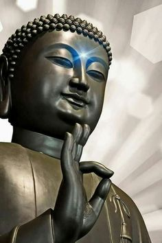 """""""Conquer anger by love, evil by good; conquer the miser with liberality, and the liar with truth. Buddha Face, Buddha Zen, Gautama Buddha, Buddha Buddhism, Buddhist Art, Sanskrit, Holy Tattoos, Buddha Temple, Spiritual Images"""