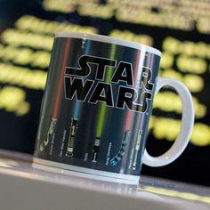 Star Wars Lichtschwert Tasse mit Thermo Effekt