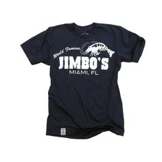 Jimbo's Shrimp: Fine Jersey Short Sleeve T-Shirt