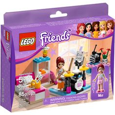 LEGO Friends Mia's Bedroom Play Set