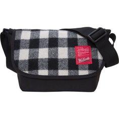 764dc9c0bd0d Manhattan Portage Unisex Woolrich Nylon Messenger Bag Jr (Small)