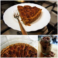 Paleo Pecan Pie #primal #paleo