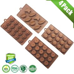 Kitchen,dining & Bar Cheap Sale Coffee Beans Shape Jelly Cookie Candy Tray Molds Chocolate Cake Decorating Fondant Diy Silicone Mould Kitchen Bakeware Sophisticated Technologies