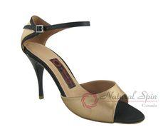 Natural Spin Tango Salsa Shoes/Tango Shoes/Fashion Shoes(Open Toe):  T1102-T12_G
