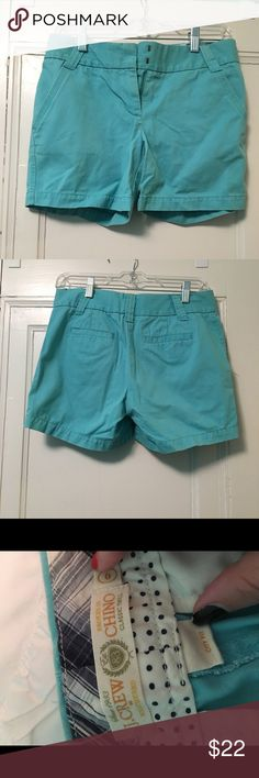 JCREW chino shorts In great condition. Barely worn. J. Crew Shorts