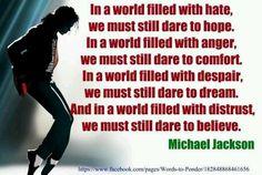 Michael Jackson quote. 5 years today  #rip #i❤️u #kingofpop